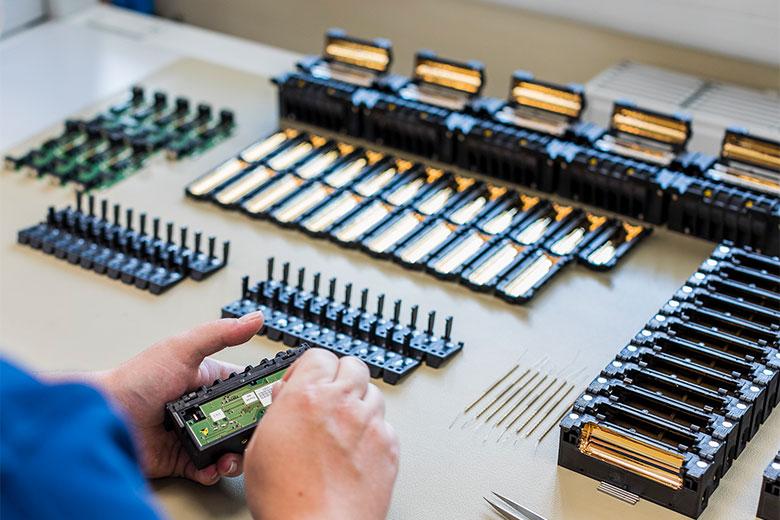Glasfaser_Ersatzteile für Spleissgeräte und Trenngeräte